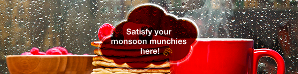 Monsoon = hot yummy FOOD! 1